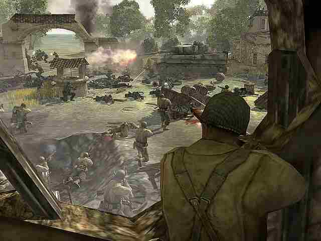 Company of Heroes Screenshot vom 2007-04-15