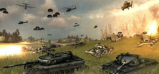World in Conflict bleibt online