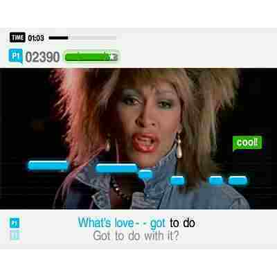 SingStar Legends Screenshot vom 2007-04-15