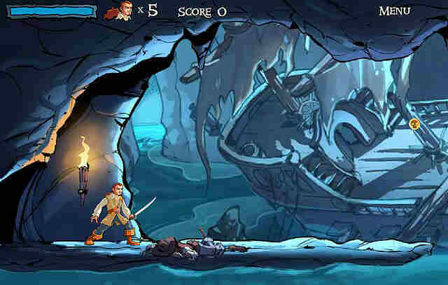 Cursed Cave Crusade – Pirates of the Caribeean Screenshot vom 2009-08-28