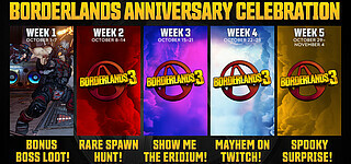 Anniversary-Event in Borderlands 3