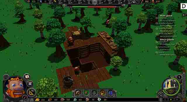 A Game of Dwarves Screenshot vom 2012-10-12