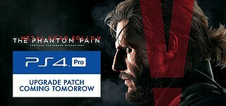PS4-Pro-Support für Metal Gear Solid 5