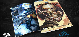 Comic-Serie zu Warframe