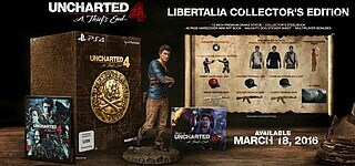 Uncharted 4 - Libertalia Collector's Edition