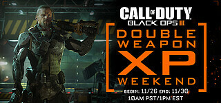 Nächstes Double-XP-Weekend für Call of Duty: Black Ops 3