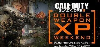Double-Weapon-XP in Call of Duty: Black Ops 3