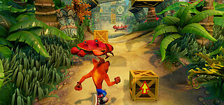Crash Bandicoot N. Sane Trilogy steuert sich anders