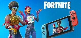 Fortnite auf Switch bei 2 Millionen Downloads