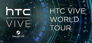 HTC-Virtual Reality-Headset on Tour