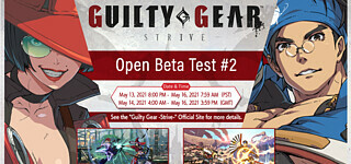 Zweite Open-Beta zu Guilty Gear: Strive