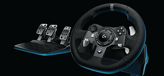 Logitech G: Neues Force-Feedback-Lenkrad