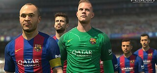 PES 2017 mit PES League-Integration