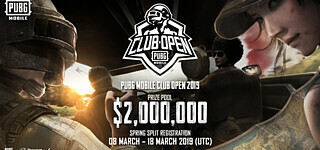 Mobile E-Sport: PUBG Mobile Club Open 2019