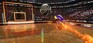 Basketball in Rocket League