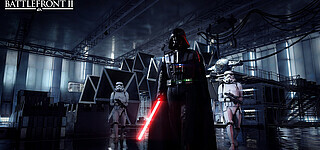 Darth Vader in Star Wars Battlefront 2