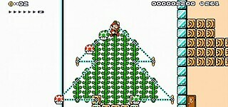 Weihnachts-Event in Super Mario Maker