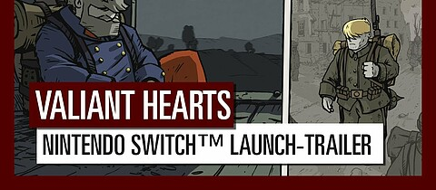 Valiant Hearts: The Great War für Switch erschienen