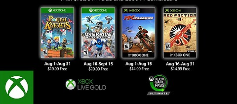 Games with Gold im August 2020