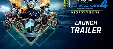 Launch-Trailer zu Monster Energy Supercross 4